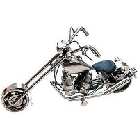 Recycled Metal Motorcycle Miniature Collectible Model Bike