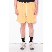 Stussy Stock Water Short In Yellow