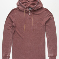 Volcom Murphy Mens Hooded Thermal Cherry  In Sizes