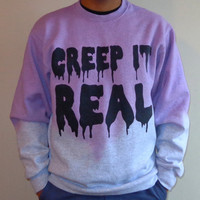 Creep It Real by LUNCCHB0XX on Etsy