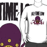 All Time Low T Shirt/Sticker