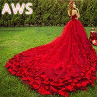 2017 new free shipping wedding dresses sexy women girl wedding dress gown sy20