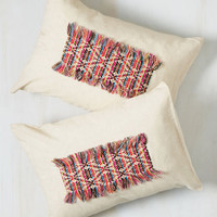 Get It Bright the First Time Pillow Sham Set | Mod Retro Vintage Decor Accessories | ModCloth.com