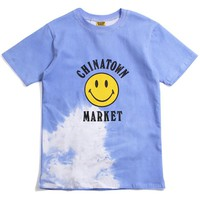 Smiley Logo Color Change T-Shirt Blue