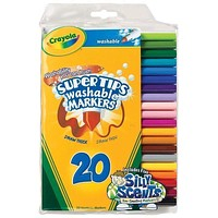 Washable Markers 20 Ct Super Tips