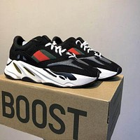 Bunchsun ADIDAS YEEZY 700 Tide brand men and women models wild old shoes sneakers 4#