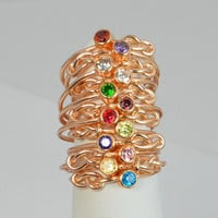 Rose Gold Filled Infinity Ring