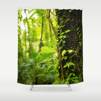 Trunk of the Jungle Shower Curtain by Nicklas Gustafsson