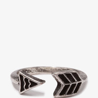 Burnished Arrow Ring