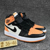 Women's and Men's NIKE Air Jordan 1 generation high basketball shoes  023
