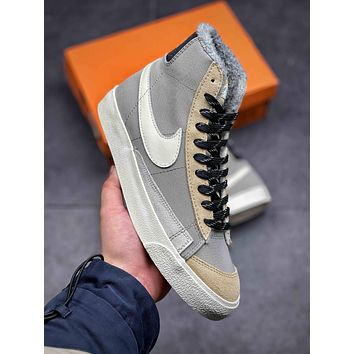 Nike Blazer Mid '77 Vintage Woman Men Fashion Sneakers Sport Shoes