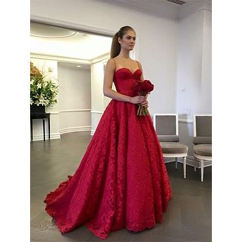 Lace Prom Dress, Special Occasion Dress, Evening Dress, Ball Dance Dresses, Graduation School Party Gown, DT0689