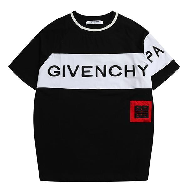 Image of Givenchy Woman Men Fashion Embroidery Tunic Shirt Top Blouse