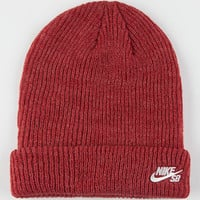Nike Sb Fisherman Beanie Burgundy One Size For Men 26453332001