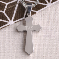 Classic Silver Cross Necklace
