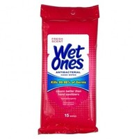 Wet Ones Antibacterial Wipes Tissues and Wipes