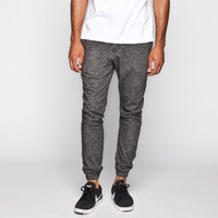 Dc Shoes Rebel Mens Sweatpants Heather Black  In Sizes