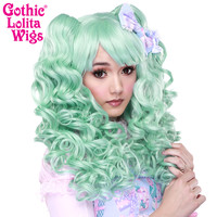 Gothic Lolita Wigs®  Baby Dollight™ Collection - Mint Mix -00011