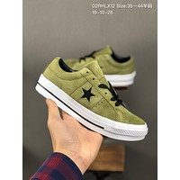 Converse onestar cheap mens and womens Fashion Canvas Flats Sneakers Sport Shoes
