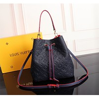 lv louis vuitton women leather shoulder bags satchel tote bag handbag shopping leather tote crossbody 247