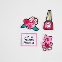 Lazy Oaf Freaking Princess Patch Pack