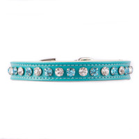 Turquoise Multicolor Jeweled Collar