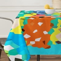 Rosie Brown Easter Candy Tablecloth