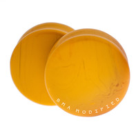 Mustard Yellow Glass Plugs (3mm-25mm)