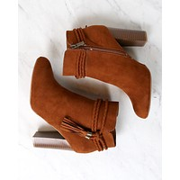 Vegan Suede Enchanted Tassel Detail Booties in More Colors
