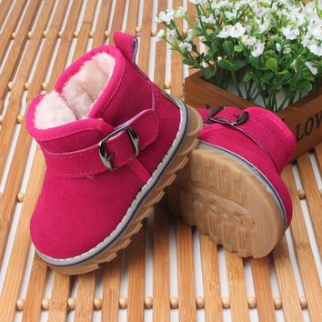 Baby Shoes Baby girl genuine leather shoes