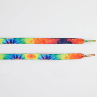 Mr. Lacy Tie Dye Shoelaces Multi One Size For Men 22978895701