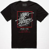 Young & Reckless Don't Box Me Out Mens T-Shirt Black  In Sizes