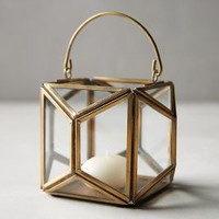 Geo Glow Lantern by Anthropologie