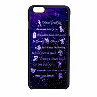 Disney Lessons Learned Mash Up iPhone 6 Case