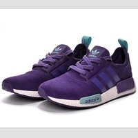 fashion adidas women trending nmd running sports shoes purple-1
