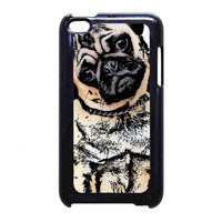 pugs alot dog FOR iPod Touch 4th CASE *NP*