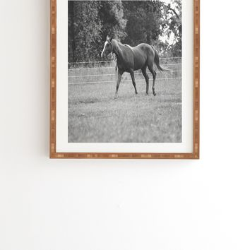 Allyson Johnson Out In The Pasture Framed Wall Art