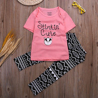 Stinkin' Cute Pants 2pc Outfit