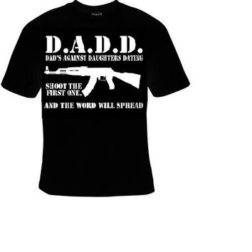 dads against daughter dating t shirt great cute funny cool gift fathers tshirts