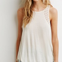 Crochet-Paneled Top