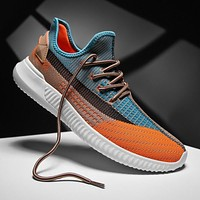 Men sneakers new shoes casual summer breathable outdoor sports light comfortable fashion walking high quality design