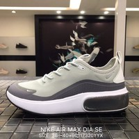 NIKE AIR MAX DIA SE Mesh white&grey  Sports Running Shoes AR7410 Best Goods