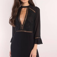 Andie Front Keyhole Shift Dress