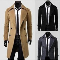 Coat Double Breasted Men Jacket [6528919811]
