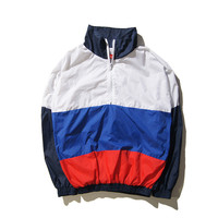 Unsiex Winter Sports 3-color Patchwork Zippers Jacket [9588193415]