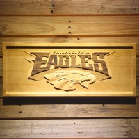Philadelphia Eagles 3D Wooden Sign