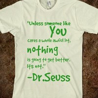 Lorax quote - Sewinsweety