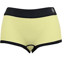 Wild Habitat Yellow Giraffe Plain Women's Boy Shorts