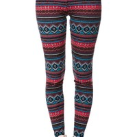 LA Hearts Sweater Leggings - Womens Pants - Multi