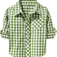 Gingham Shirts for Baby